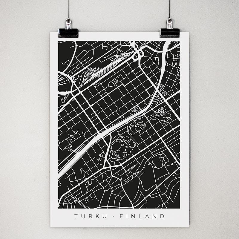 Turku-juliste klipseissä