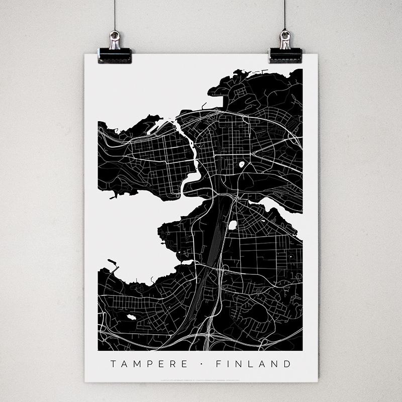 Tampere-juliste klipseissä